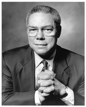 general collin powell General colin l powell (usa, ret)distinguished scholar and chair of the board of visitor's.