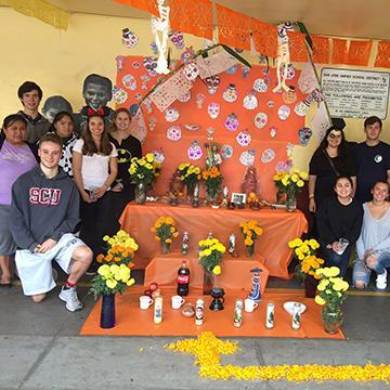2016 Day of the Dead Altar