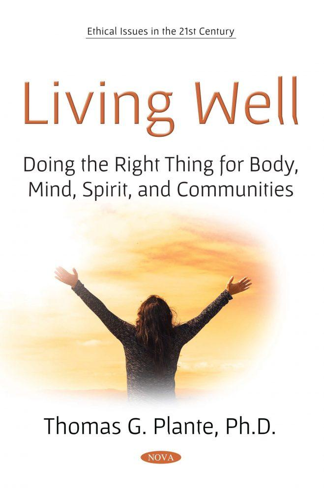 Living Well by Thomas Plante book cover