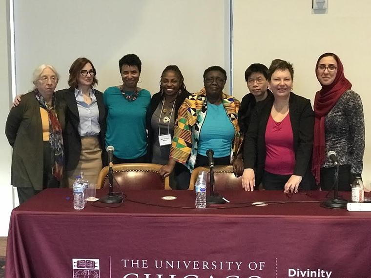 Women Presenters at the Grappling With a Global Ethics Conference: University of Chicago Divinity School
