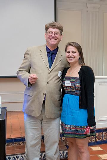 Dr. David Gray and Jenna Lipman