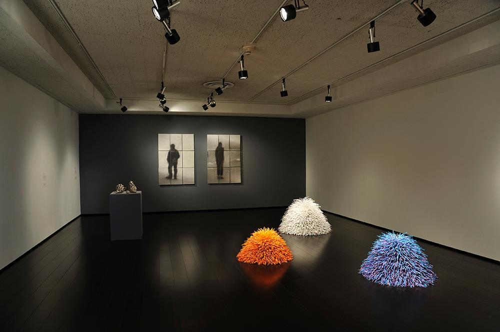Installation view of Clay in the Bay.