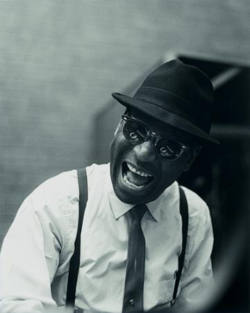 Black and White photograph of musician Earl Hines