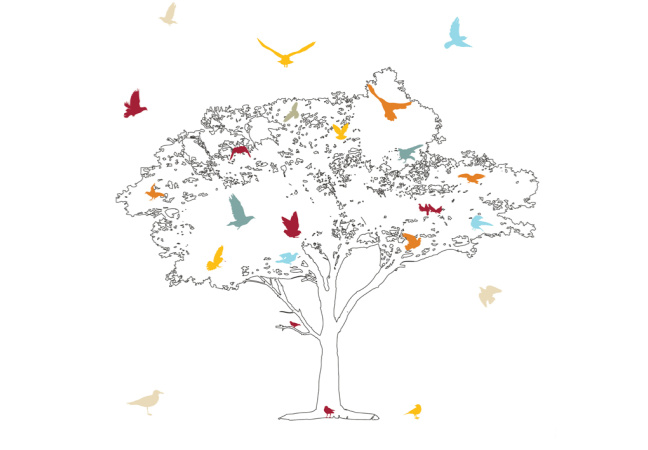 tree with birds 720x450