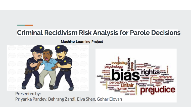 Criminal Recidivism Risk Analysis