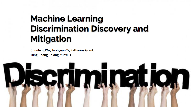 Machine Learning Discrimination Discovery and Mitigation
