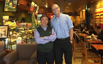 Professor Nguyen Nam and David DeCosse