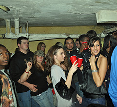 College students at a party image link to story