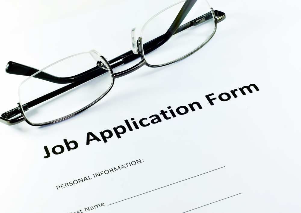 job application form image link to story