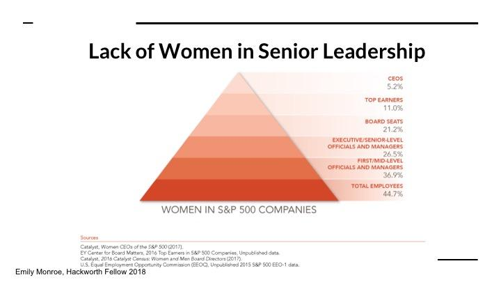 Lack of Women in Senior Leadership