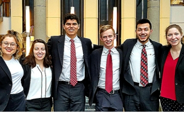 SCU Ethics Bowl Team a Top Competitor in Nation