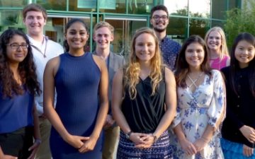 2018-19 Ethics Center Hackworth Fellows