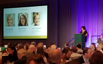 "Director of Journalism Ethics Sally Lehman served as a featured panelist for ""Truth, Trust & Democracy: Seattle CityClub Annual Benefit on June 27"