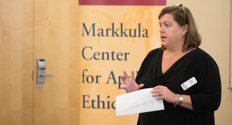Ann Skeet, Director of Leadership Ethics