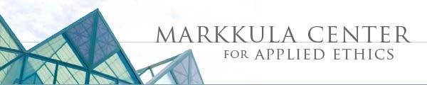 Markkula Center for Applied Ethics Banner