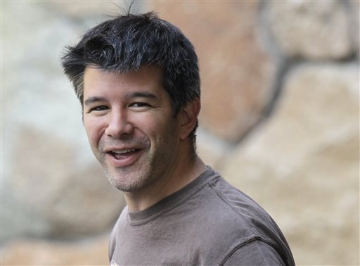 Travis Kalanick, Uber CEO (AP Photo/Paul Sakluma, File)