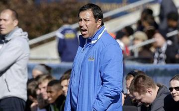 UCLA coach Jorge Salcedo was charged along with nearly 50 other people in indictments made public March 12 in Boston. (AP Photos/Gerry Broome) image link to story
