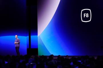 Facebook F8 Developer Conference 2019 (AP Photo/Tony Avelar). image link to story