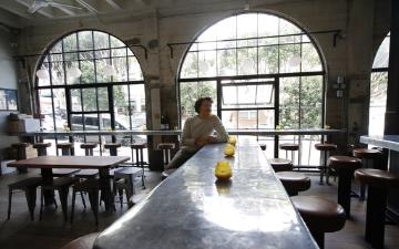 San Francisco restaurant owner sits in empty business image link to story