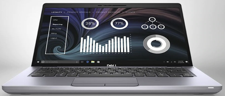 An image of the Dell Latitude 5410 laptop computer showing the general appearance of the laptop.