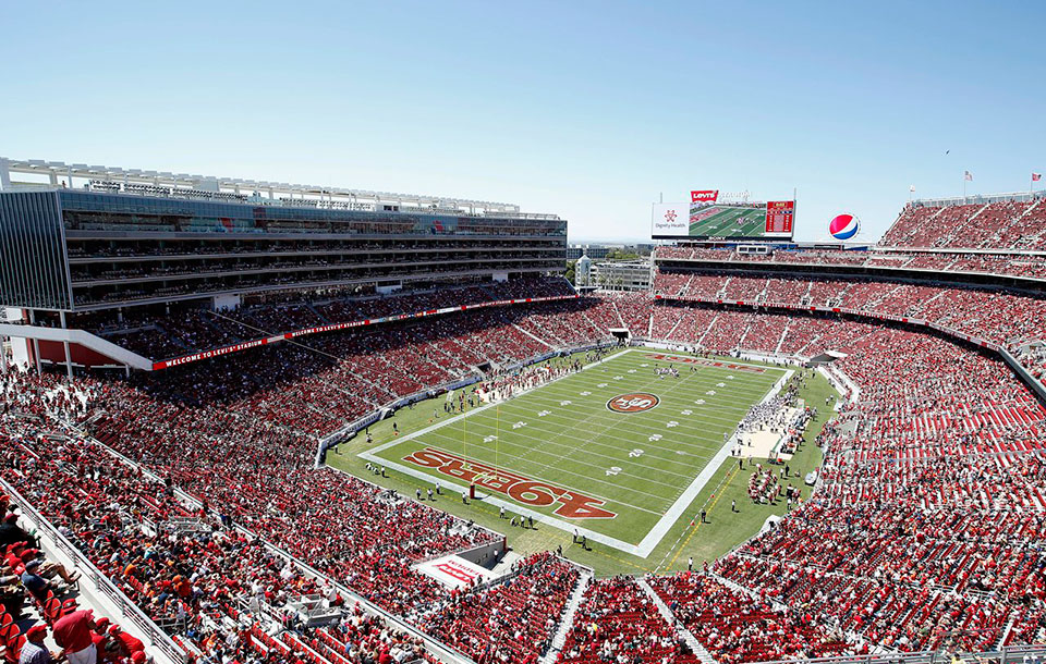 Levi's Stadium, home of the 49ers
