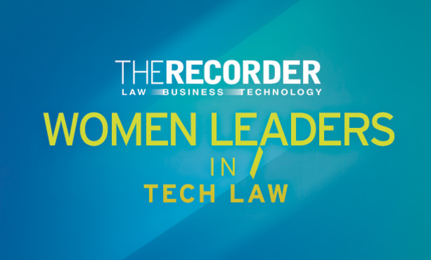Recorder banner for Women Leaders in Tech Law image link to story