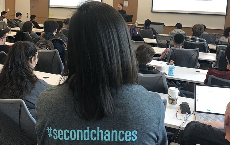 2nd Chances Hackathon image link to story