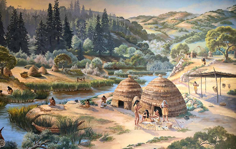 Ohlone Mural image link to article