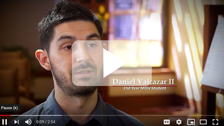 Daniel Valcazar speaks about his  story