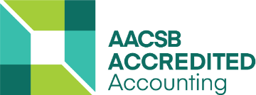 AACSB Accredited Accounting Program logo