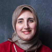 Adjunct Lecturer of Economics Shireen Al-Azzawi Head Shot