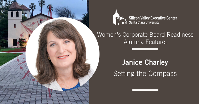 Women's Corporate Board Readiness Alumna Feature: Janice Charley: Setting the Compass