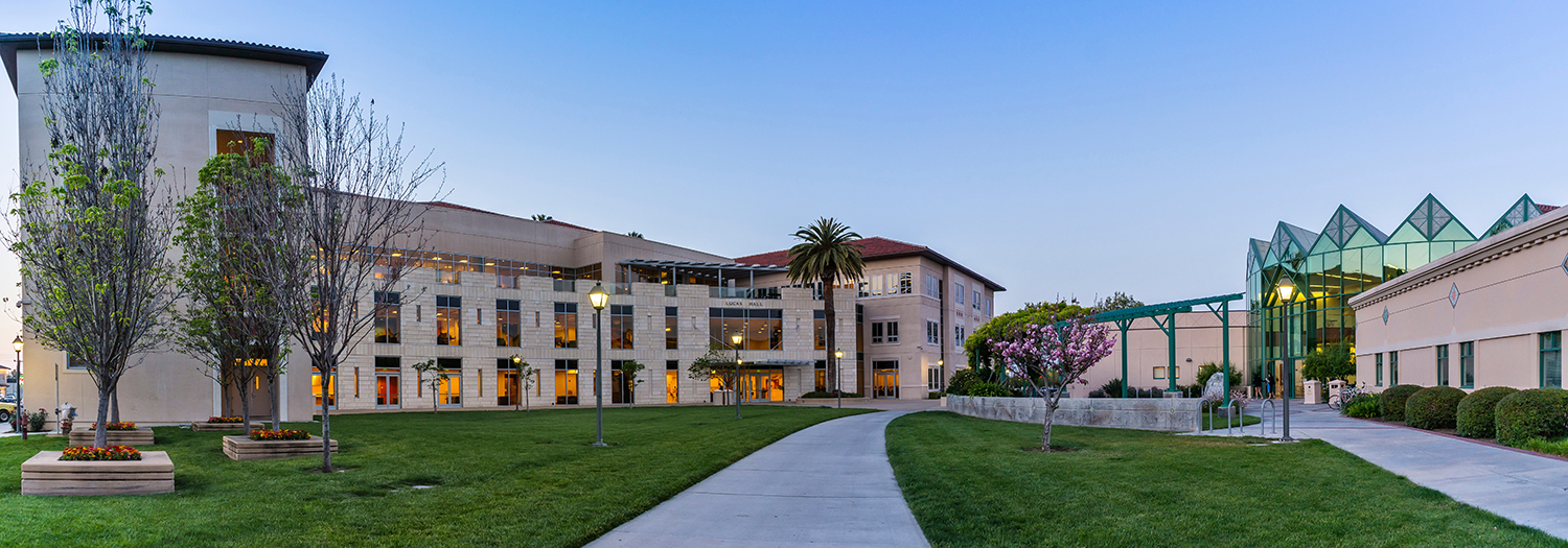 Lucas Hall is home to Santa Clara University Leavey School of Business
