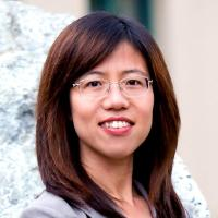 Associate Professor of Marketing Xiaojing Dong head shot