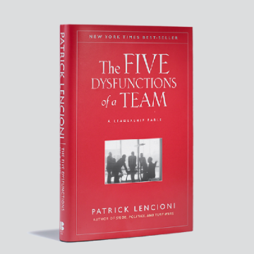 Picture of Patrick Lencioni's The Five Dysfunctions of a Team