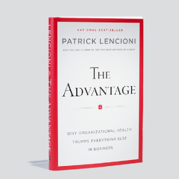 Picture of Patrick Lencioni's The Advantage