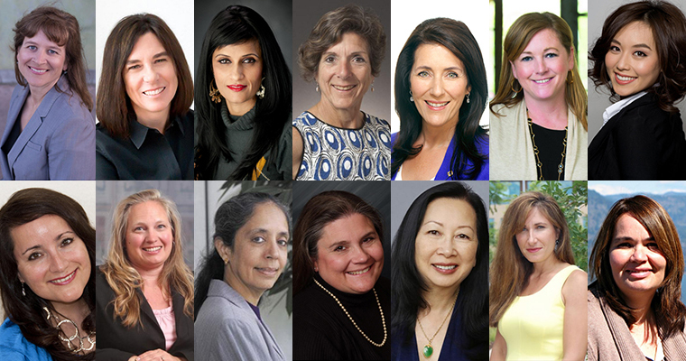 SCU alumnae who were listed at SVBJ Women of Influence in 2016 image link to story