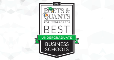 Poets&Quants Best Undergraduate Business Schools Ranking Logo image link to story