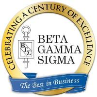 Beta Gamma Sigma is business education's honor society
