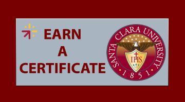 Earn Certificate Button
