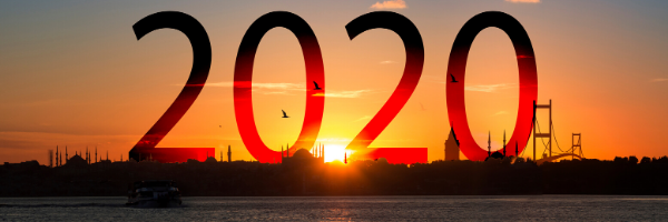 Photo of sunrise with 2020