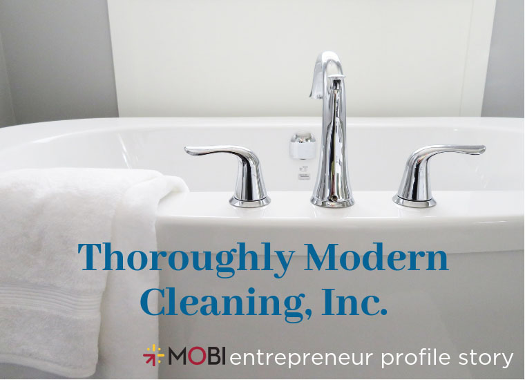 Thoroughly Modern Cleaning image link to story