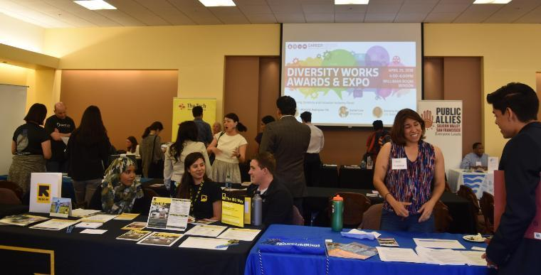 Diversity Works Expo in the Williman Room