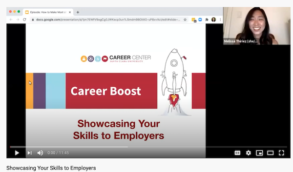 Episode 2 - Showcasing Your Summer to Employers image cap