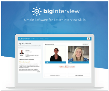 Big Interview Computer Screen Example