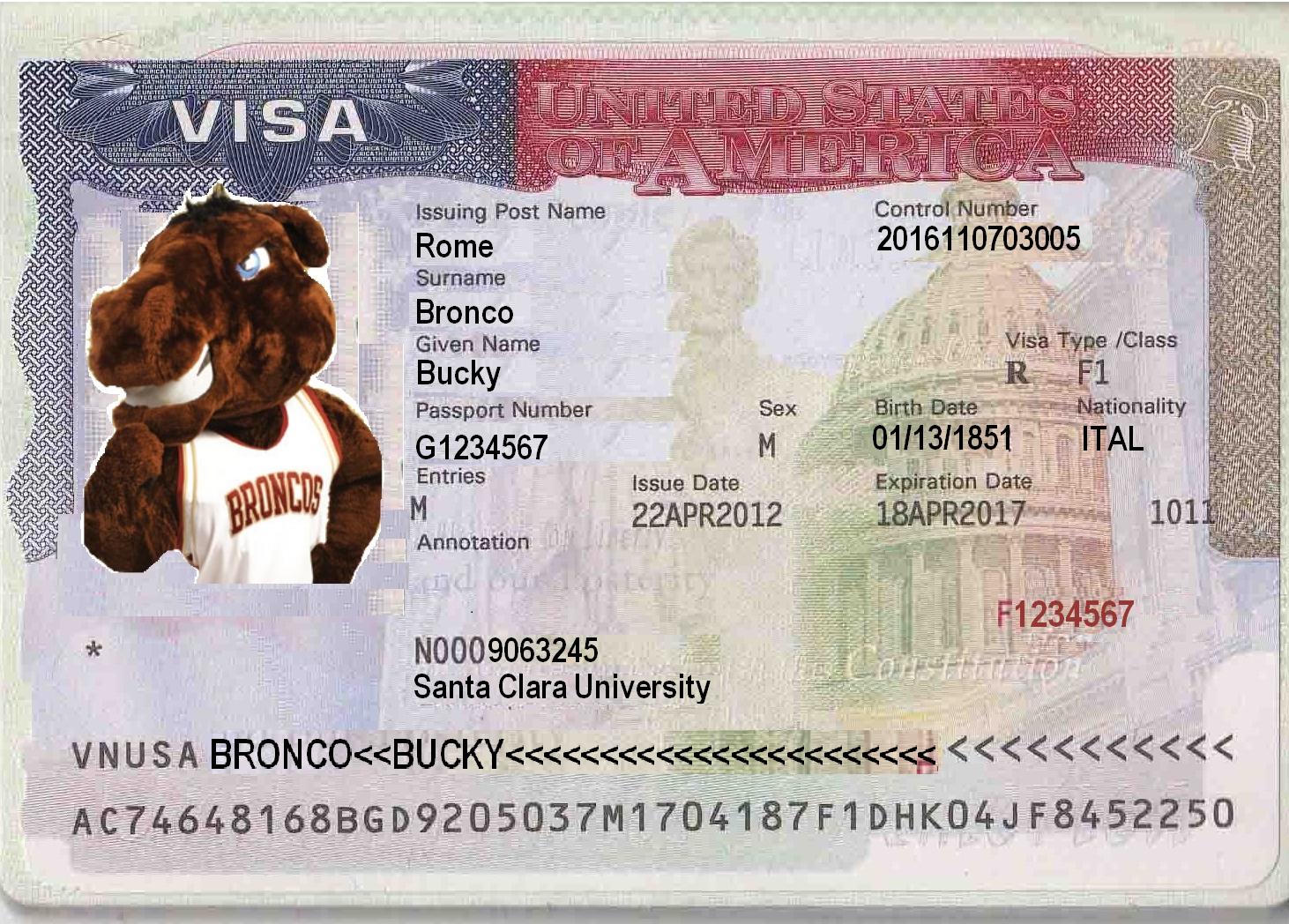 Immigration Documents - Global Engagement - Santa Clara