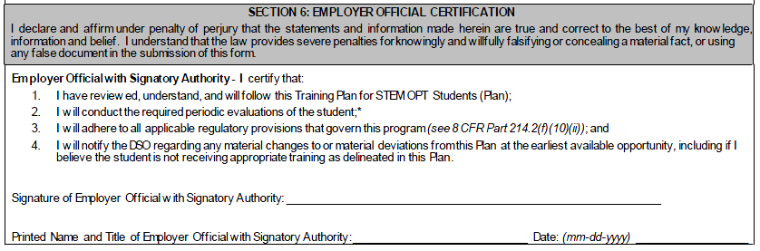 STEM OPT Training Plan (Form I-983) - Global Engagement - Santa ...