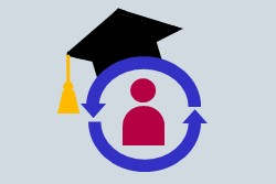 Retention and Graduation Rates Icon