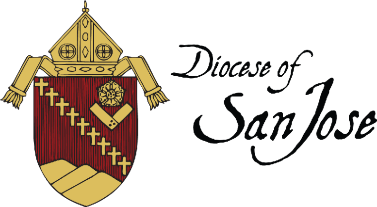 Diocese of San Jose logo and link to website