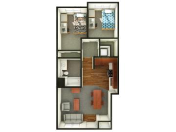University Villas Apartment Layouts
